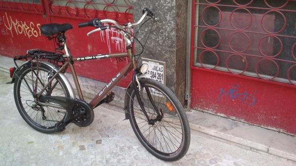 bicicletando em lisboa e em trabalho